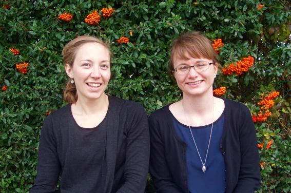 Christina Gro Hansen og Maria Mølgaard Berg
